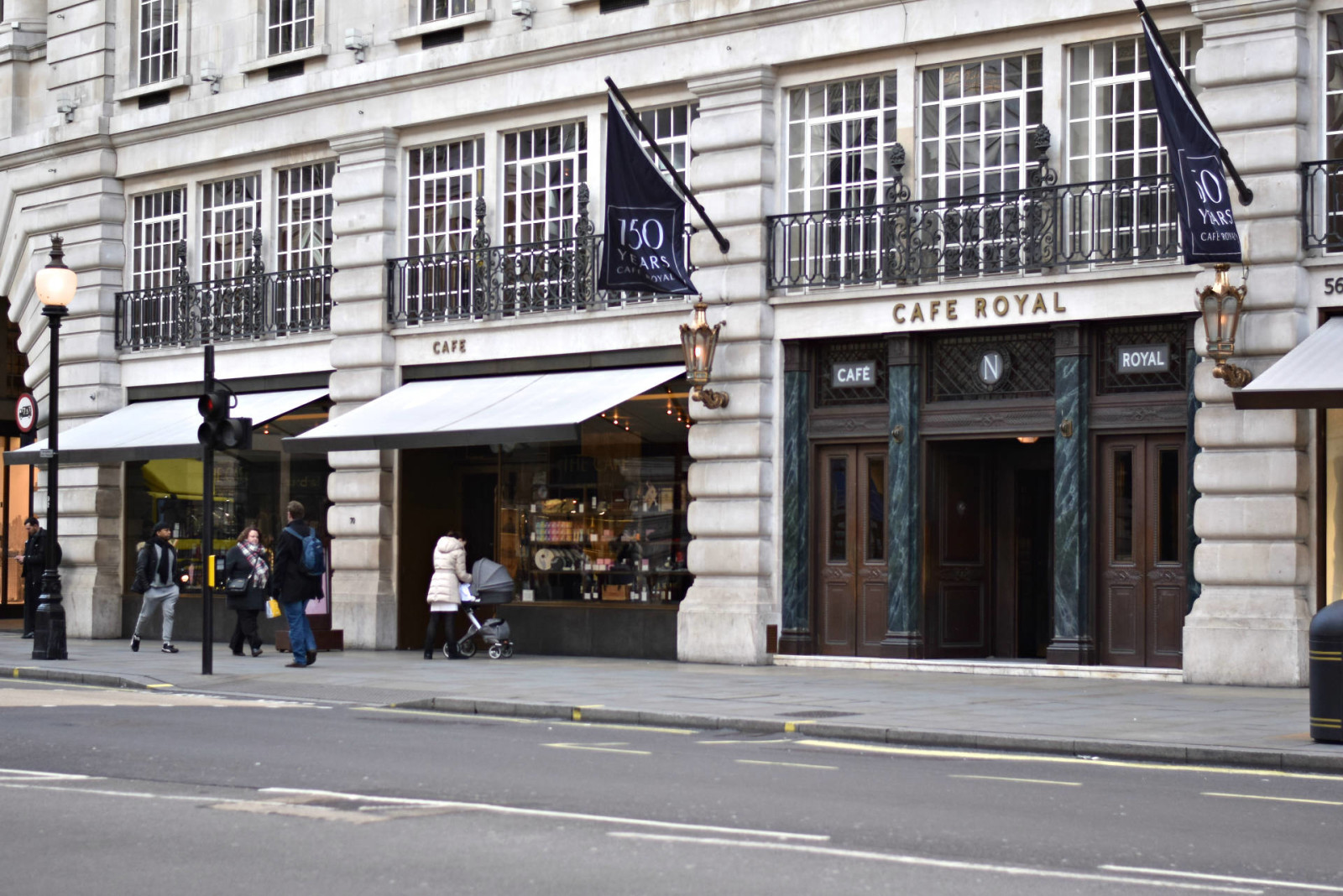 LAFOTKA TRAVELS LONDON - FASHION BLOGGER TRAVEL DIARY CAFE ROYAL