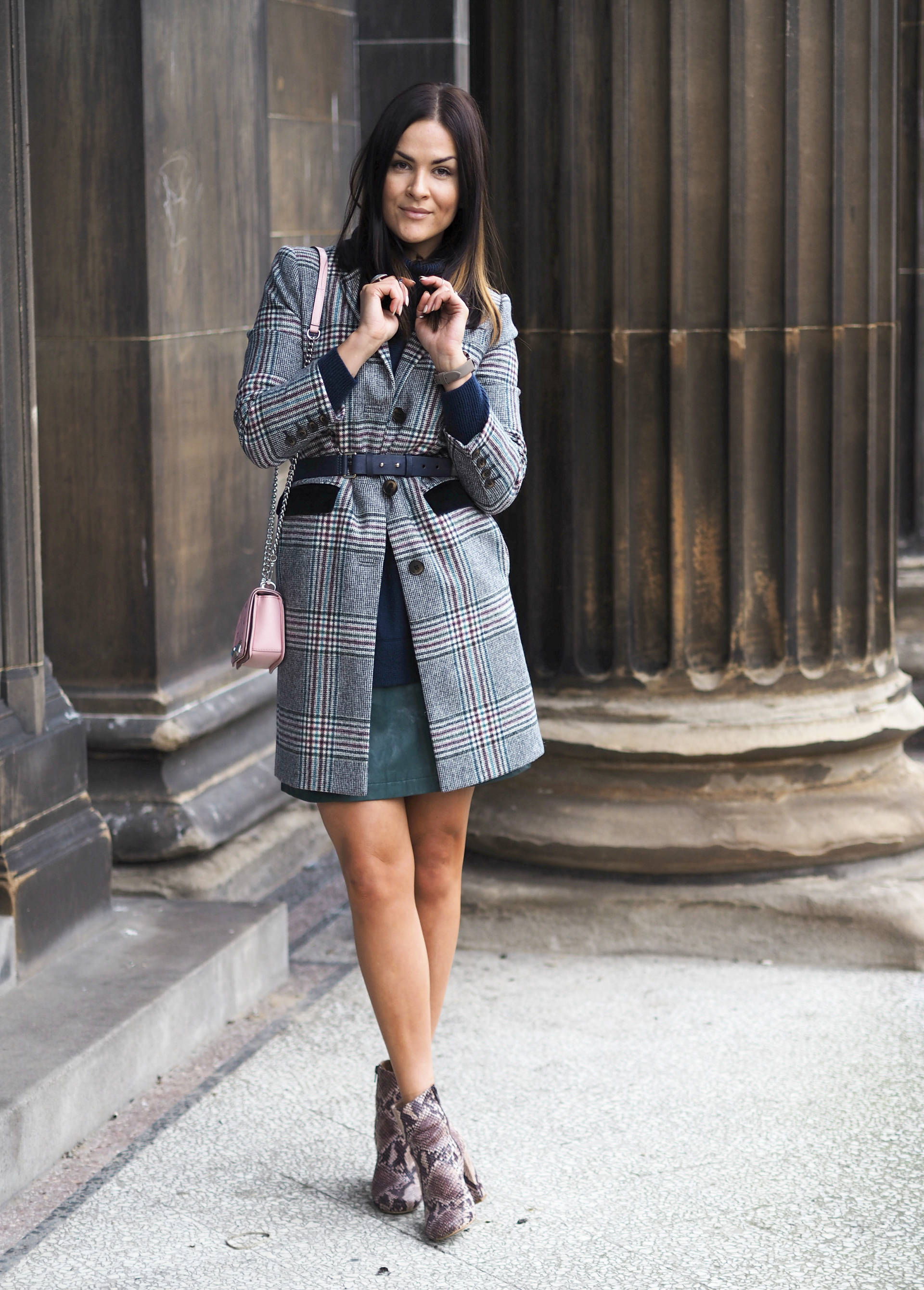 Check her out in boden checked coat and trendiest print for Boden trends 2016