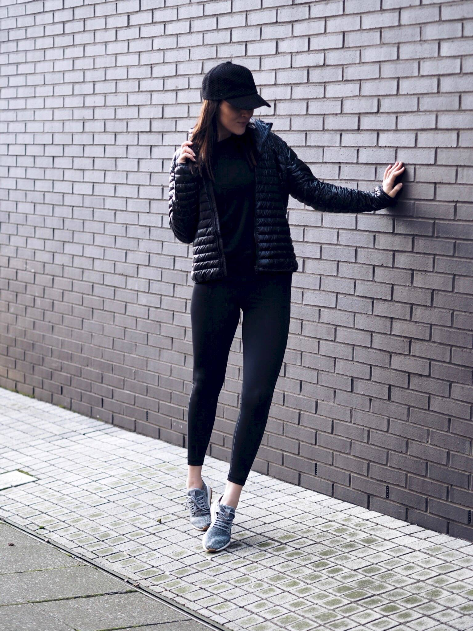 fitness with adidas gymwear fashion blogger LAFOTKA - body boosting tips