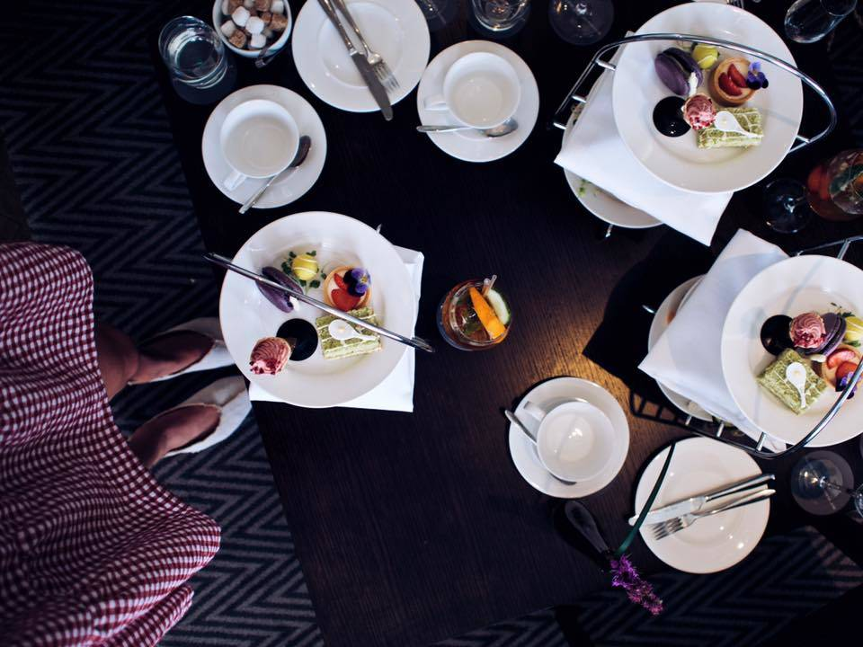 blyhtswood afternoon tea - lafotka glasgow fashion blogger