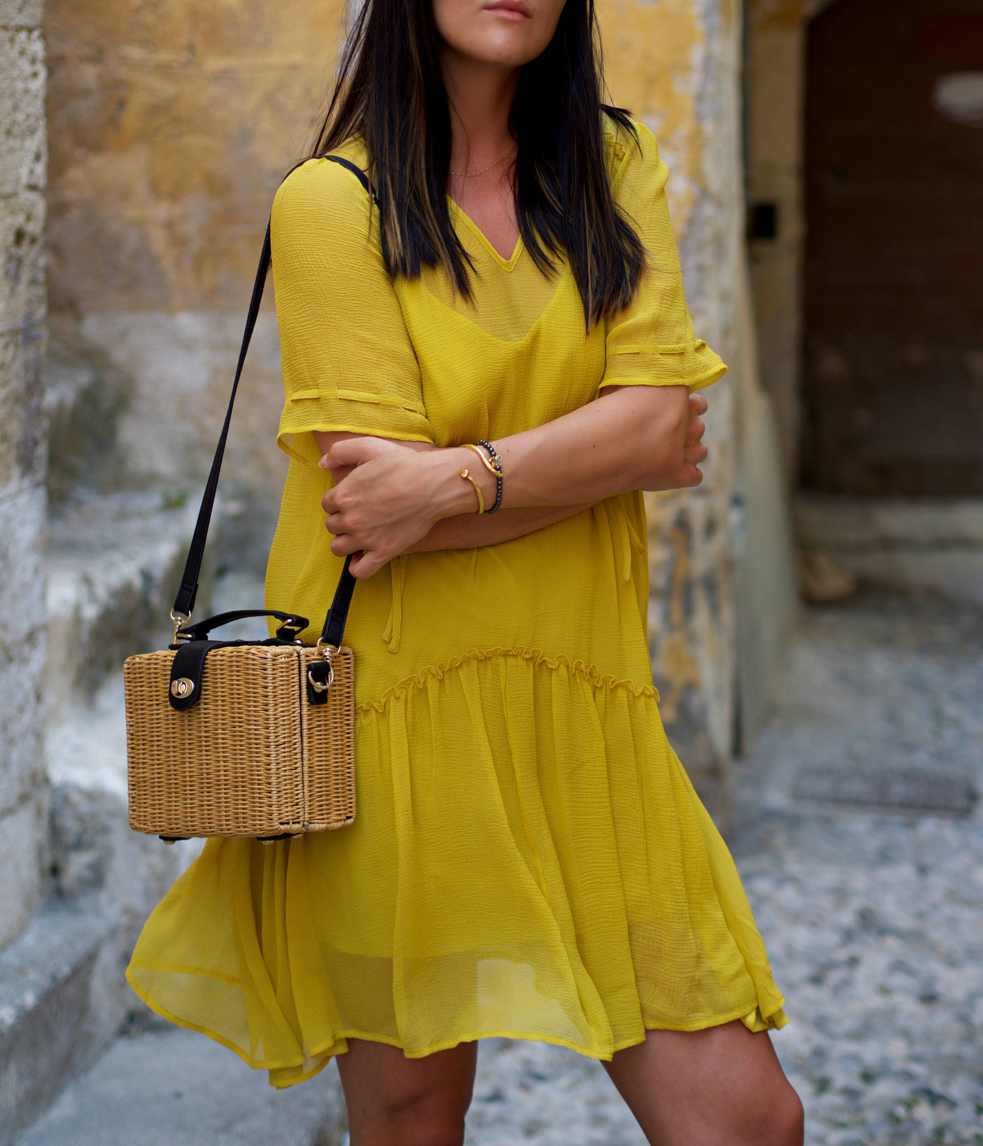 Baum Und Pferdgarten Yellow Summer Dress Atterley - LAFOTKA Fashion Blogger