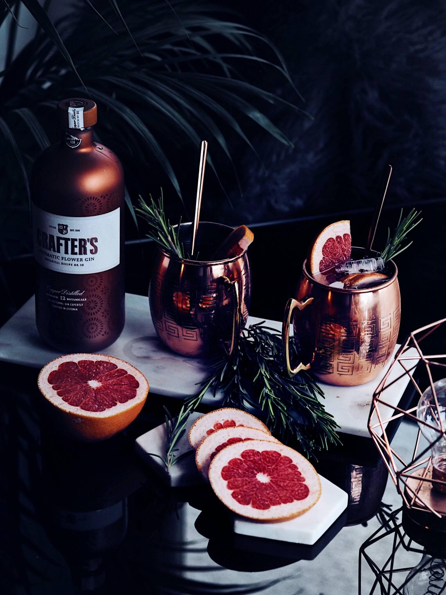CRANACHER GIN WINTER COCKTAILS LIFESTYLE BLOGGER LAFOTKA THE GIN KIN