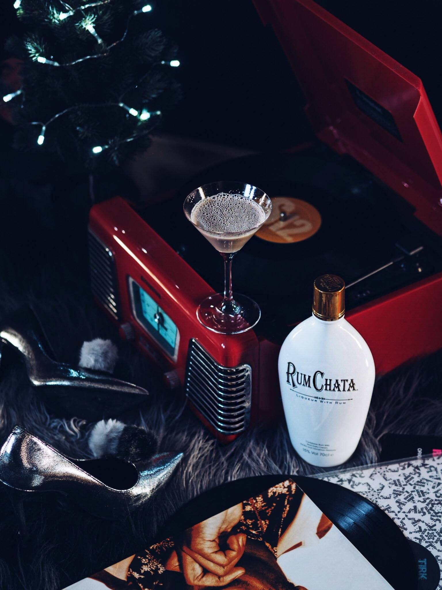 Get ready with me and RumChata for a girly Christmas Night out. Create your own pre-party with favourite music, snacks before a night out