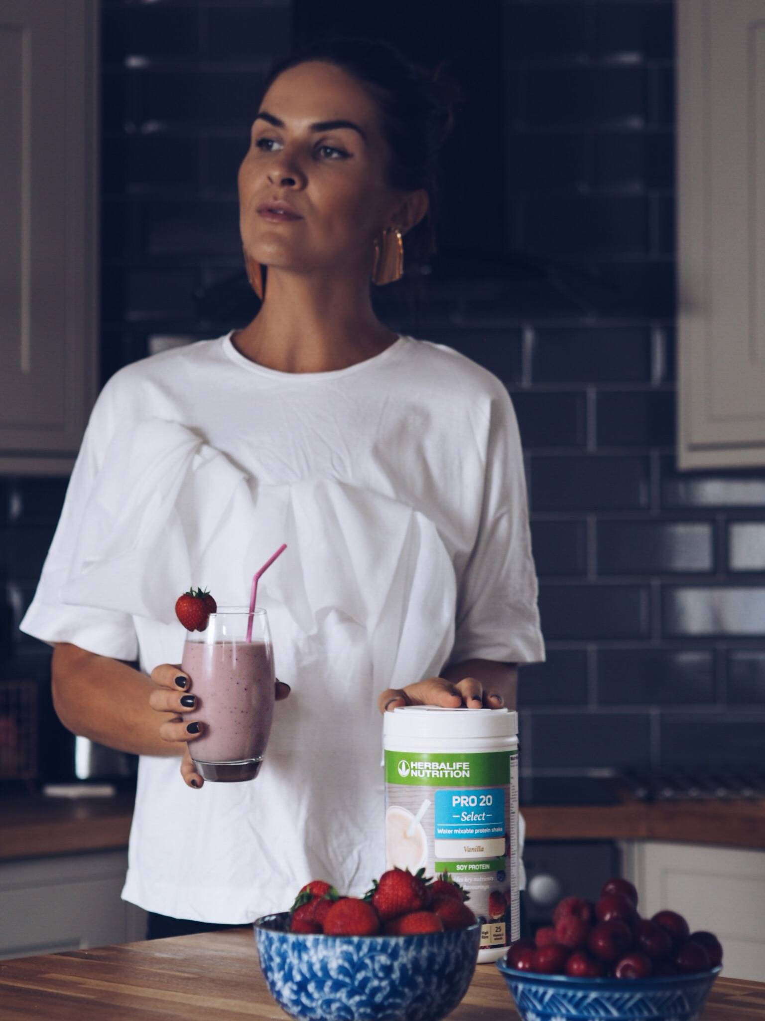 Herbalife-breakfast-protein-lifestyle-health-fashion-blogger-LAFOTKA-Scotland