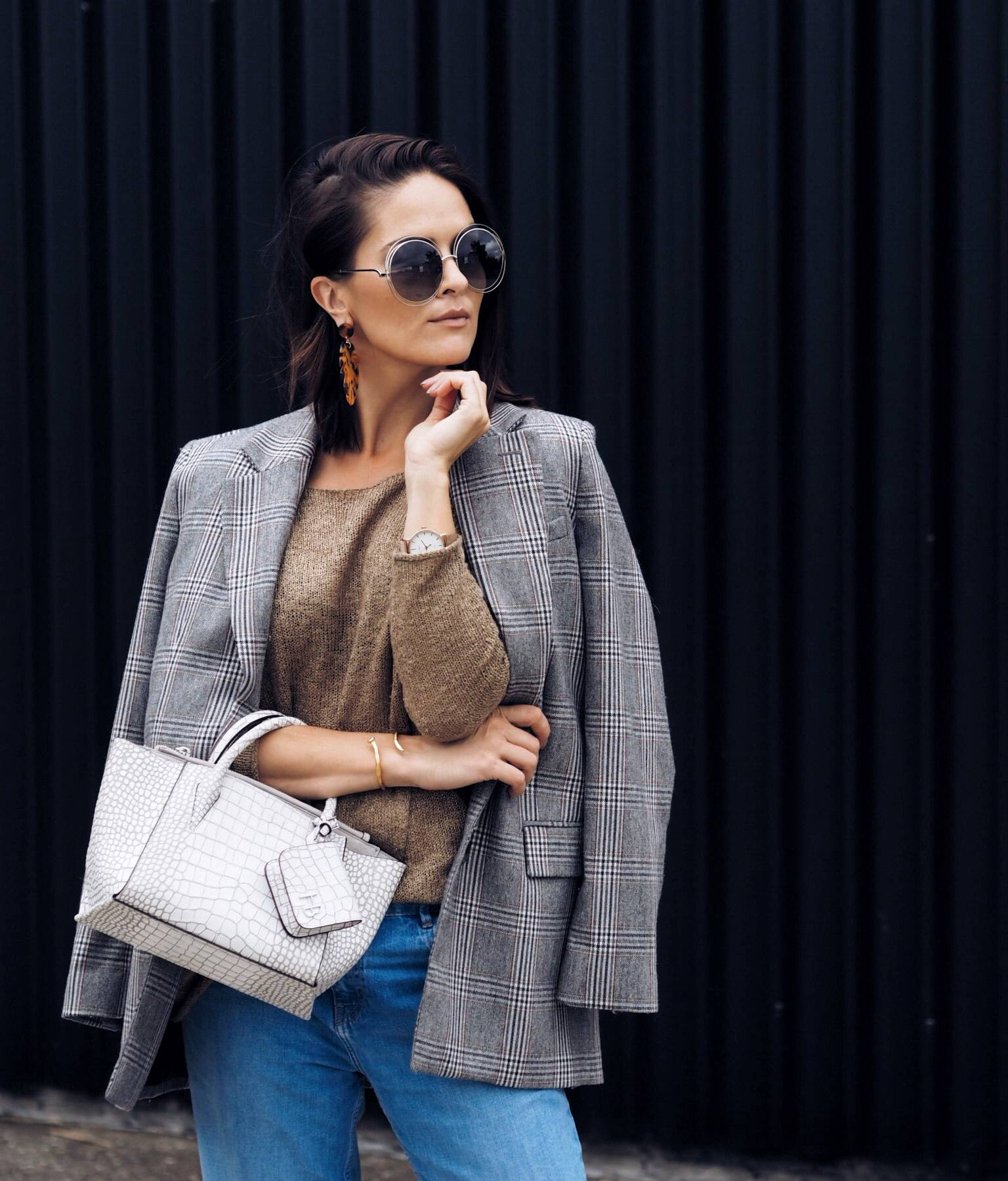 LAFOTKA-CHECK-BLAZER-STREET-STYLE-GLASGOW-SCOTTISH-FASHION-BLOGGER